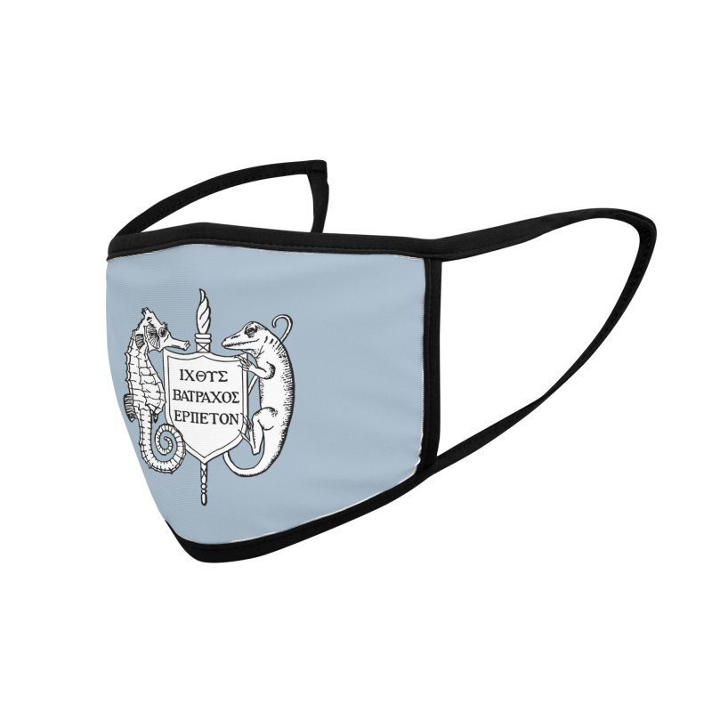 Blue Mask Masks, Mugs, Notebooks, and Fun Stuff Face Mask by Amer. Society of Ichthyologists & Herpetologists