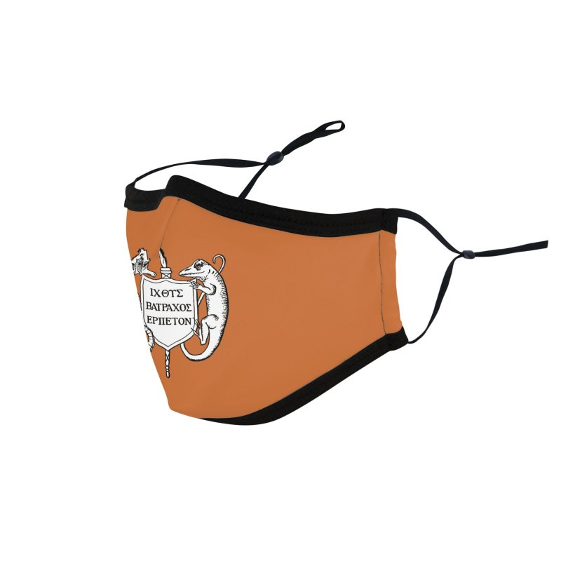 Orange Mask Masks, Mugs, Notebooks, and Fun Stuff Face Mask by Amer. Society of Ichthyologists & Herpetologists