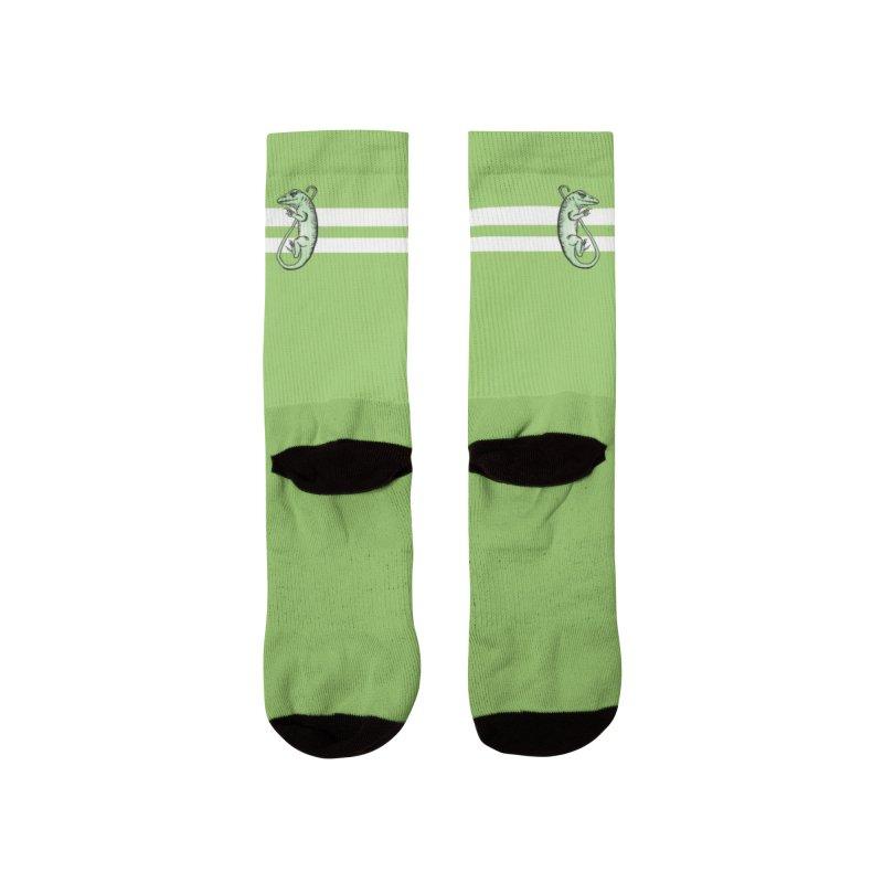 Green Lizard Socks Men Socks by Amer. Society of Ichthyologists & Herpetologists