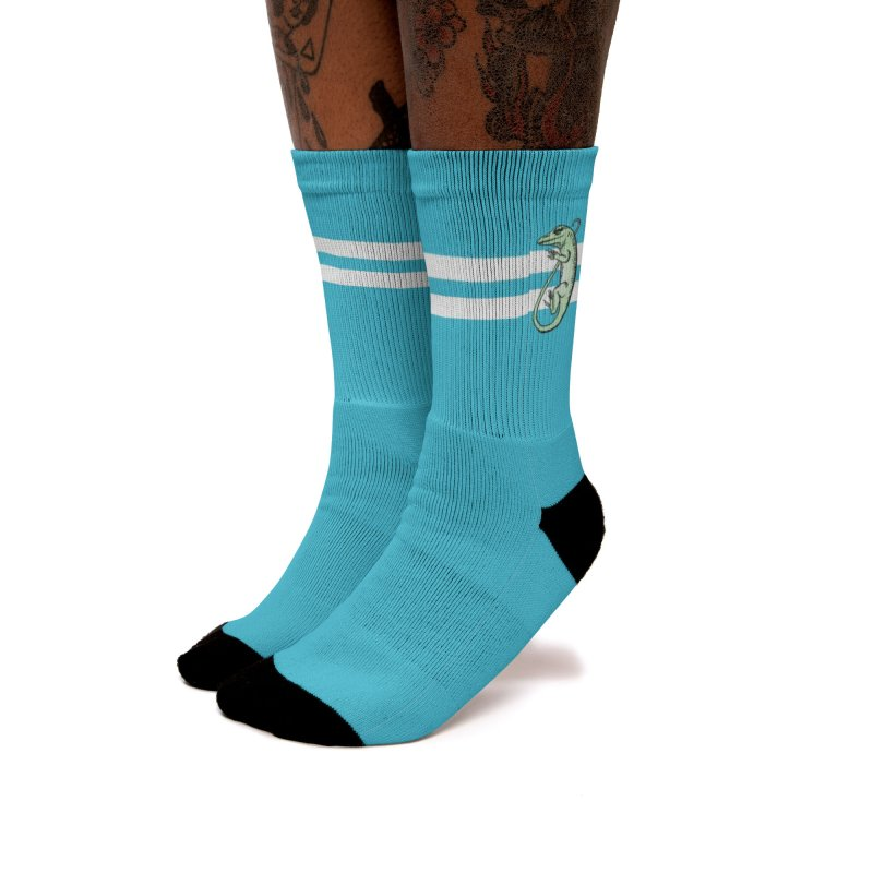 Blue Socks with ASIH Animals Women Socks by Amer. Society of Ichthyologists & Herpetologists