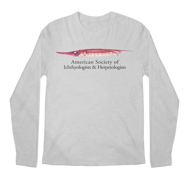 Shrimpfish Men Longsleeve T-Shirt by Amer. Society of Ichthyologists & Herpetologists
