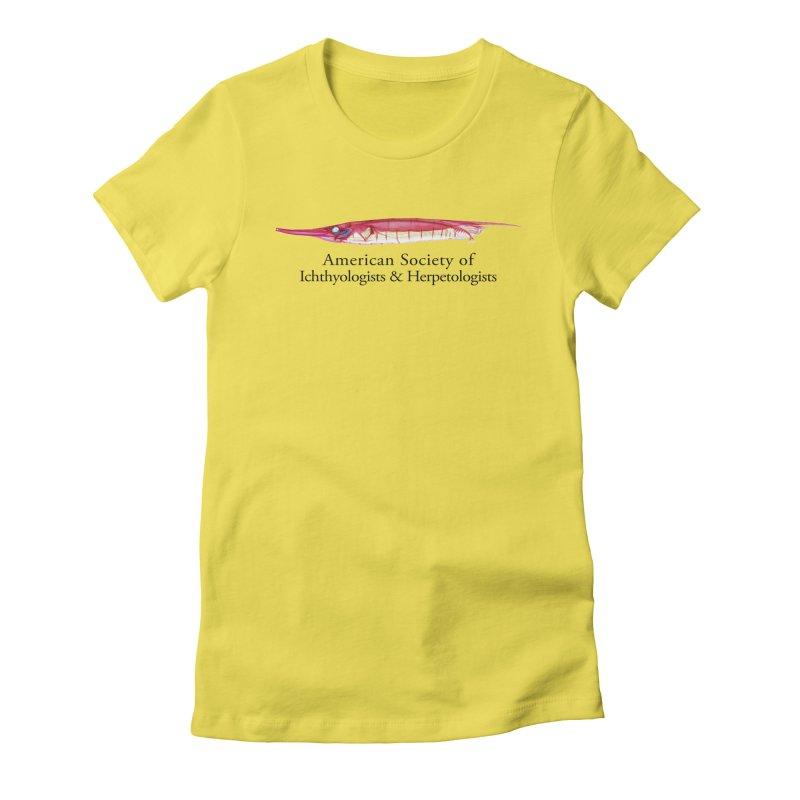 Shrimpfish Women T-Shirt by Amer. Society of Ichthyologists & Herpetologists