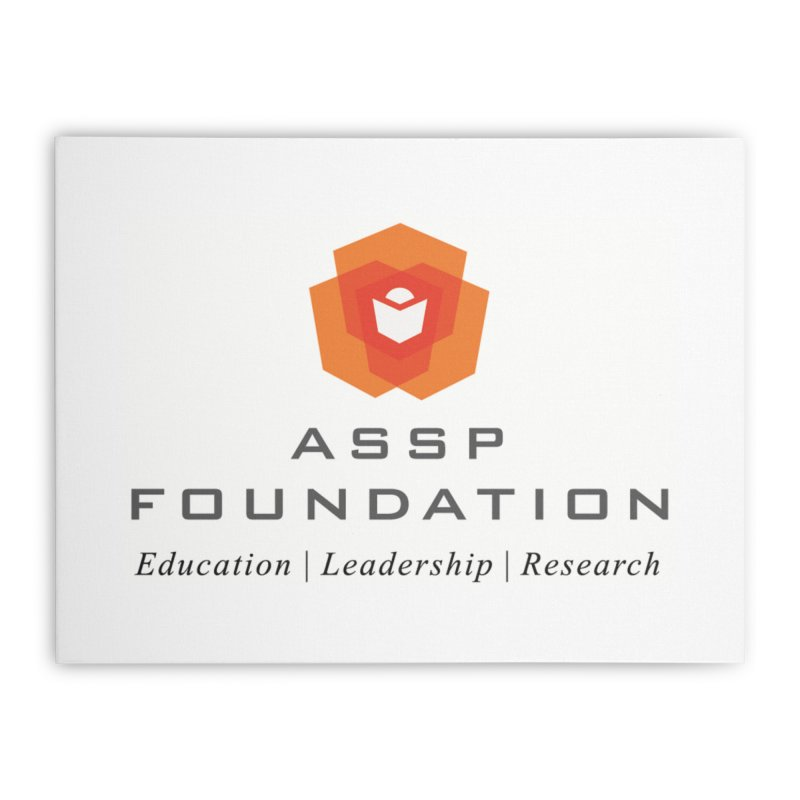 ASSP Foundation Gear Home Stretched Canvas by ASSP Foundation