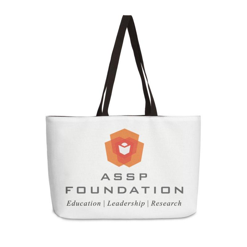 ASSP Foundation Gear Accessories Weekender Bag Bag by ASSP Foundation
