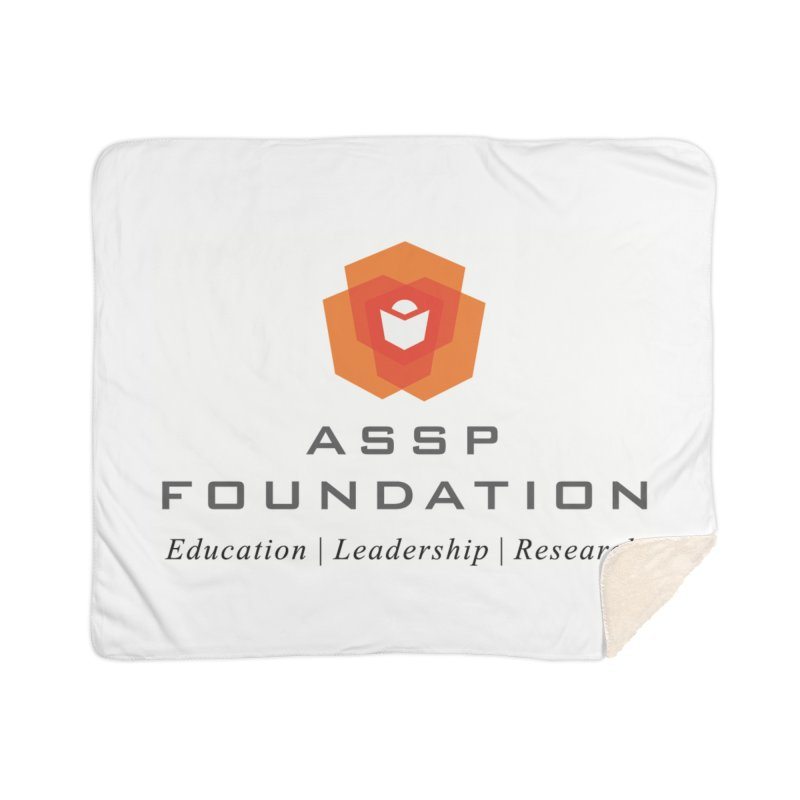 ASSP Foundation Gear Home Sherpa Blanket Blanket by ASSP Foundation