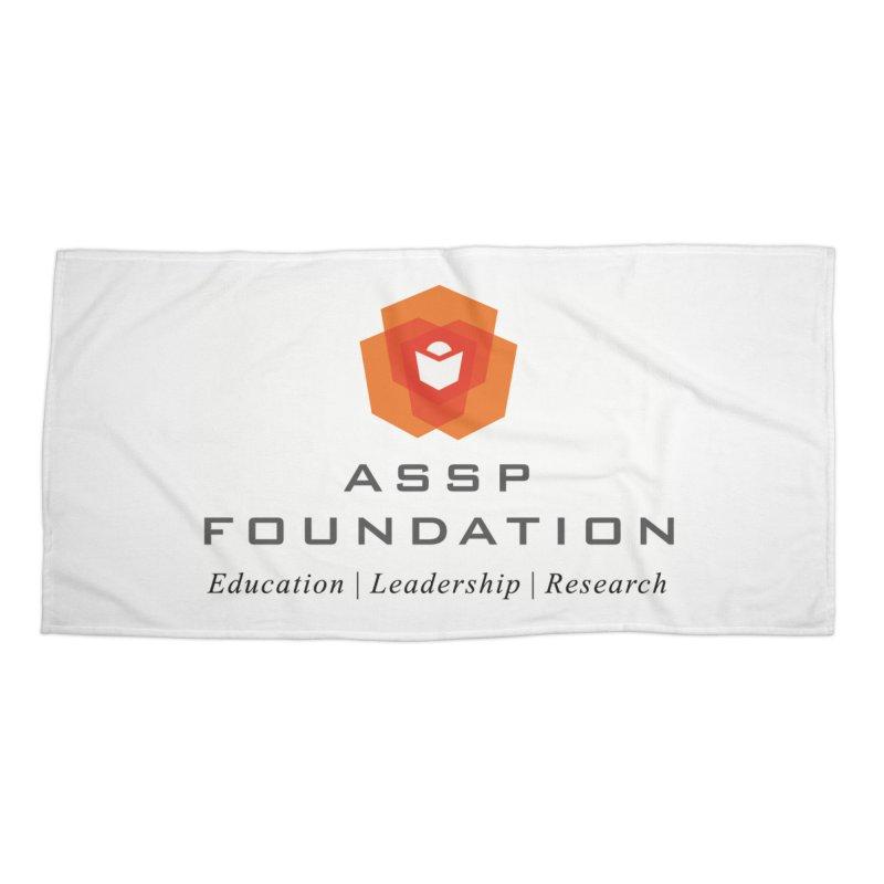 ASSP Foundation Gear Accessories Beach Towel by ASSP Foundation