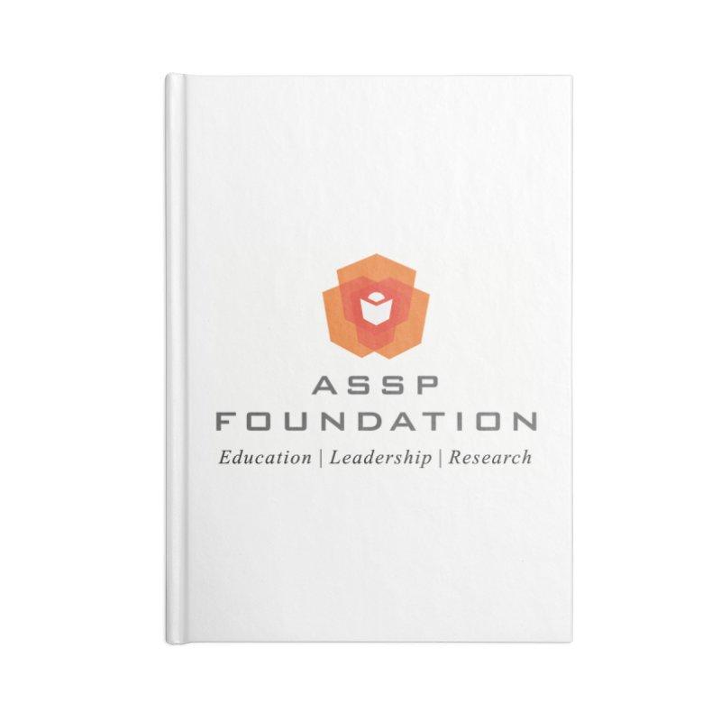 ASSP Foundation Gear Accessories Blank Journal Notebook by ASSP Foundation