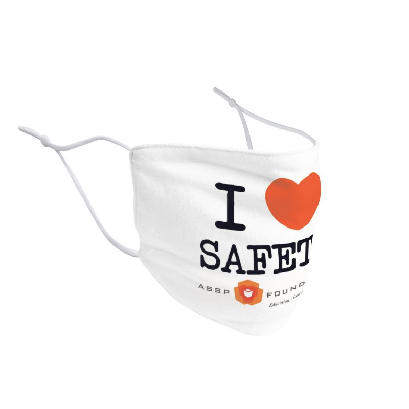 I Heart Safety Products Accessories Face Mask by ASSP Foundation