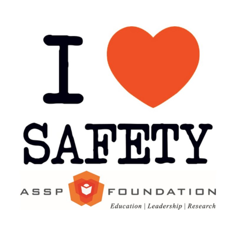 I Heart Safety Products Women's T-Shirt by ASSP Foundation