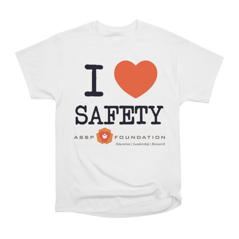 I Heart Safety Products Men's T-Shirt by ASSP Foundation