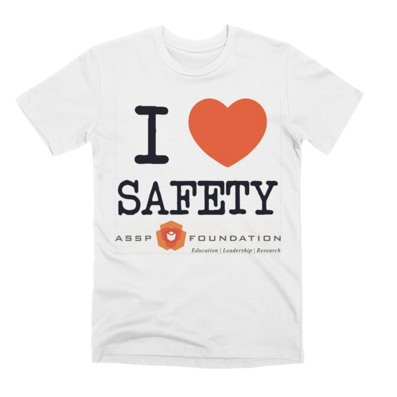 I Heart Safety Products Men's Premium T-Shirt by ASSP Foundation