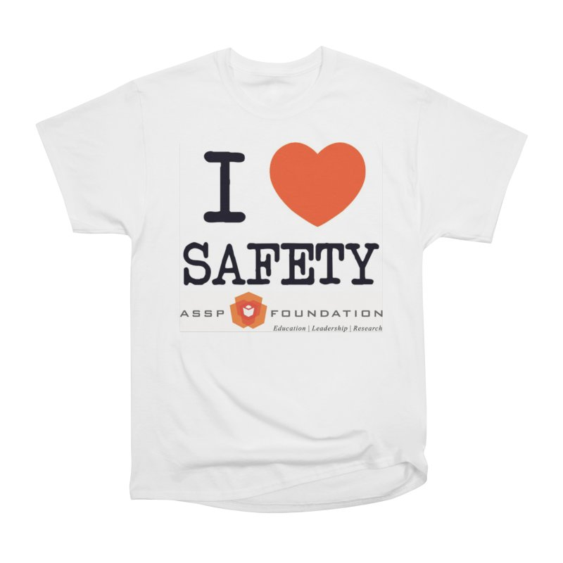 I Heart Safety Products Men's Heavyweight T-Shirt by ASSP Foundation