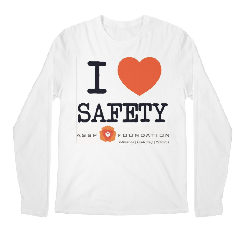 I Heart Safety Products Men's Regular Longsleeve T-Shirt by ASSP Foundation