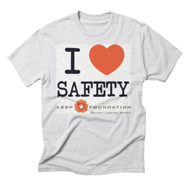 I Heart Safety Products Men's Triblend T-Shirt by ASSP Foundation