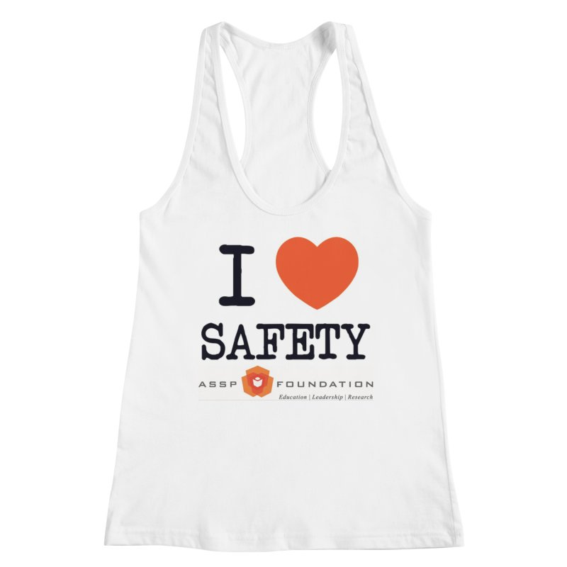 I Heart Safety Products Women's Racerback Tank by ASSP Foundation