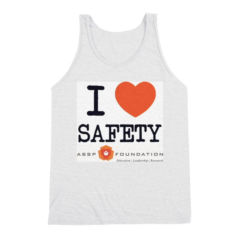 I Heart Safety Products Men's Triblend Tank by ASSP Foundation