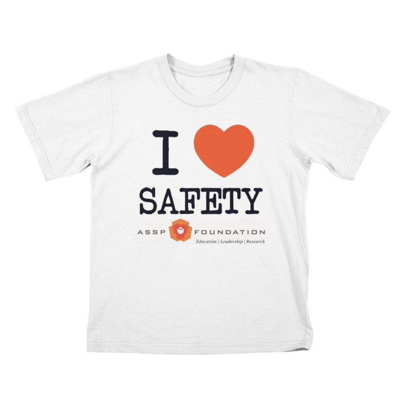 I Heart Safety Products Kids T-Shirt by ASSP Foundation