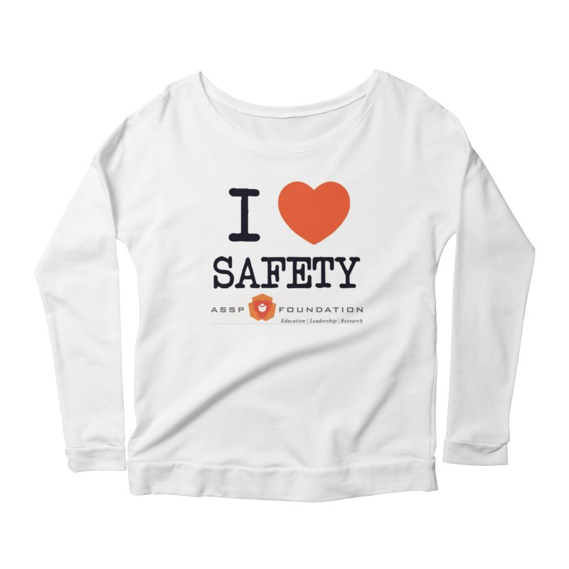 I Heart Safety Products Women's Longsleeve T-Shirt by ASSP Foundation