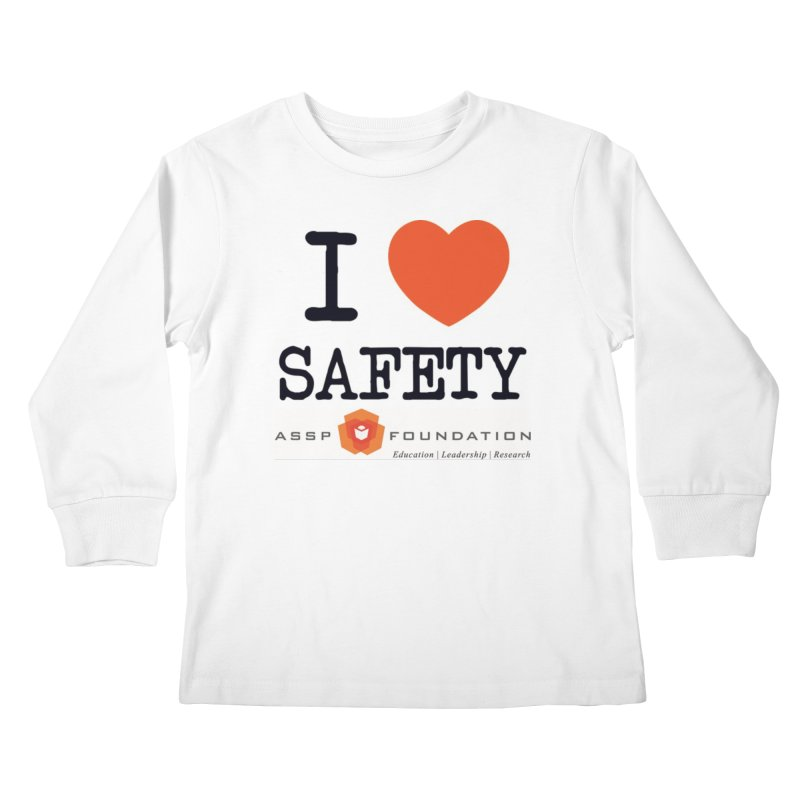 I Heart Safety Products Kids Longsleeve T-Shirt by ASSP Foundation