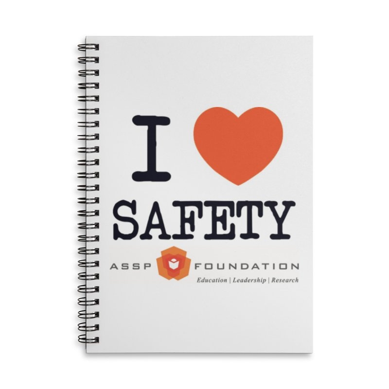 I Heart Safety Products in Lined Spiral Notebook by ASSP Foundation