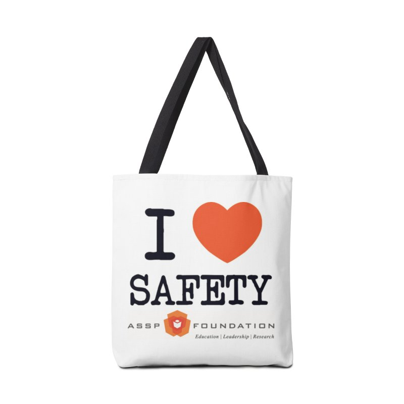 I Heart Safety Products in Tote Bag by ASSP Foundation