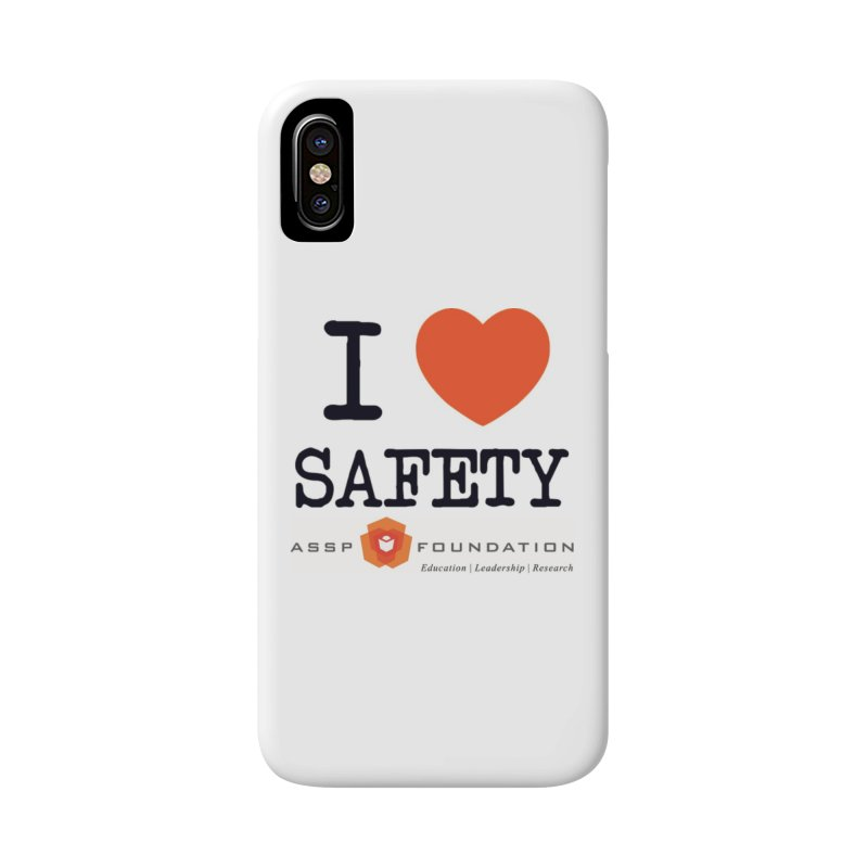 I Heart Safety Products in iPhone X / XS Phone Case Slim by ASSP Foundation