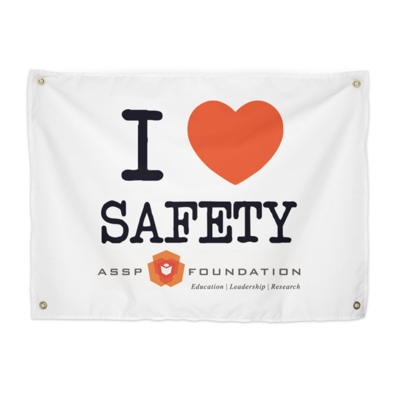 I Heart Safety Products Home Tapestry by ASSP Foundation