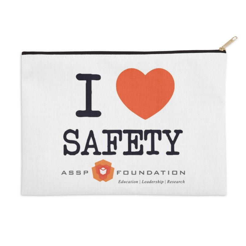 I Heart Safety Products Accessories Zip Pouch by ASSP Foundation