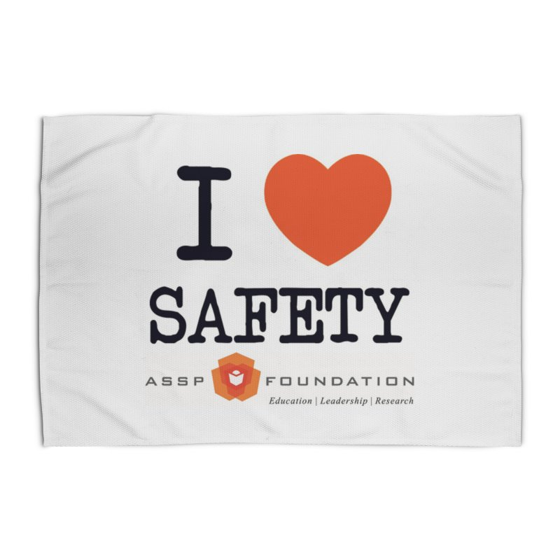 I Heart Safety Products Home Rug by ASSP Foundation