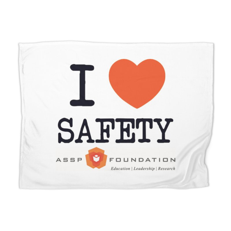 I Heart Safety Products Home Blanket by ASSP Foundation