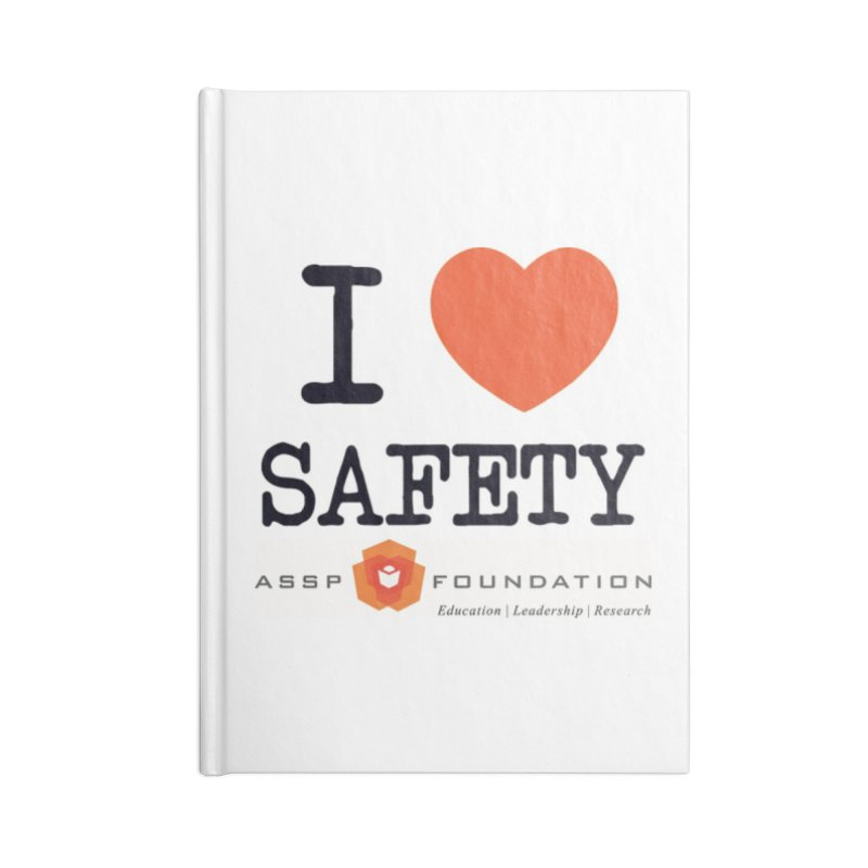 I Heart Safety Products Accessories Lined Journal Notebook by ASSP Foundation