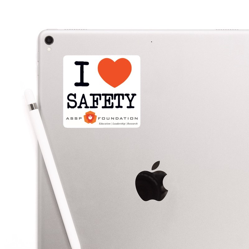 I Heart Safety Products Accessories Sticker by ASSP Foundation