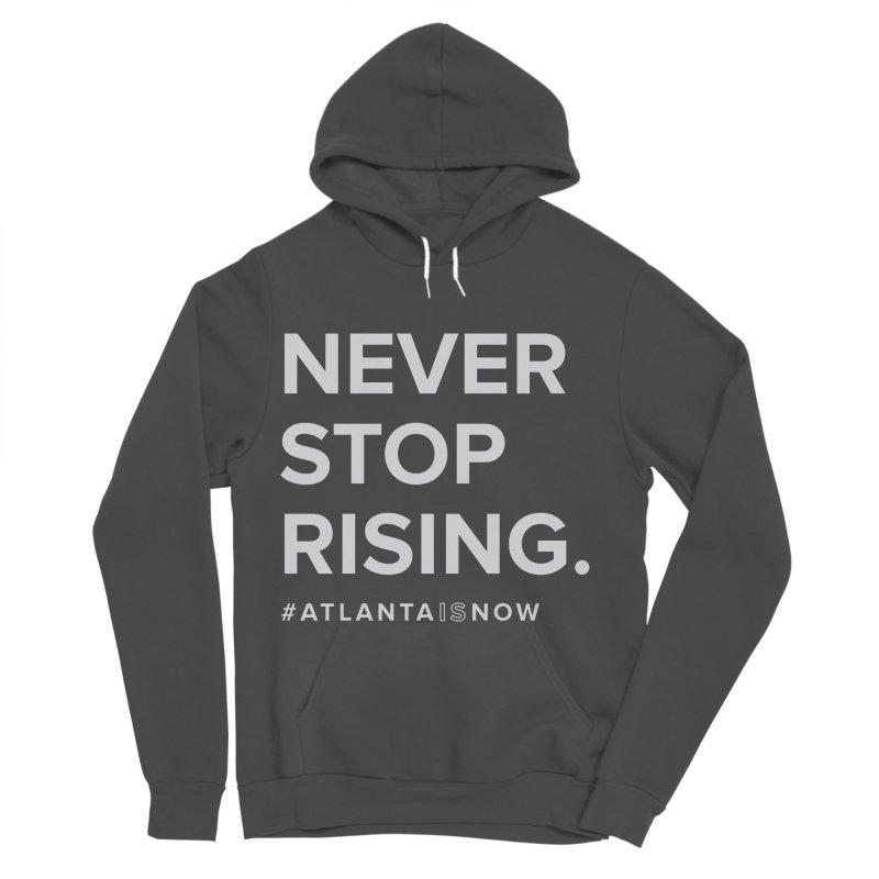Never Stop Rising. Men's Sponge Fleece Pullover Hoody by ATLBrandBox's Artist Shop