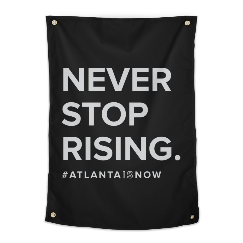 Never Stop Rising. Home Tapestry by ATLBrandBox's Artist Shop