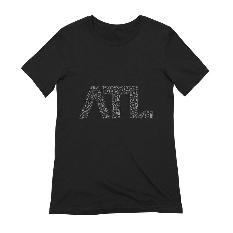 ATL Women's Extra Soft T-Shirt by ATLBrandBox's Artist Shop