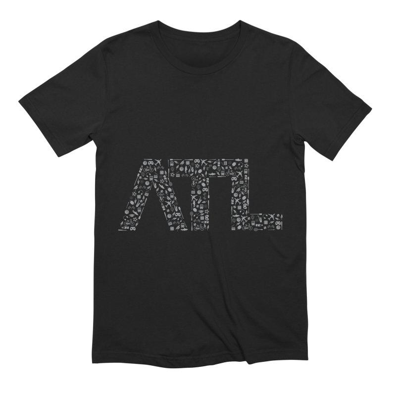 ATL Men's Extra Soft T-Shirt by ATLBrandBox's Artist Shop