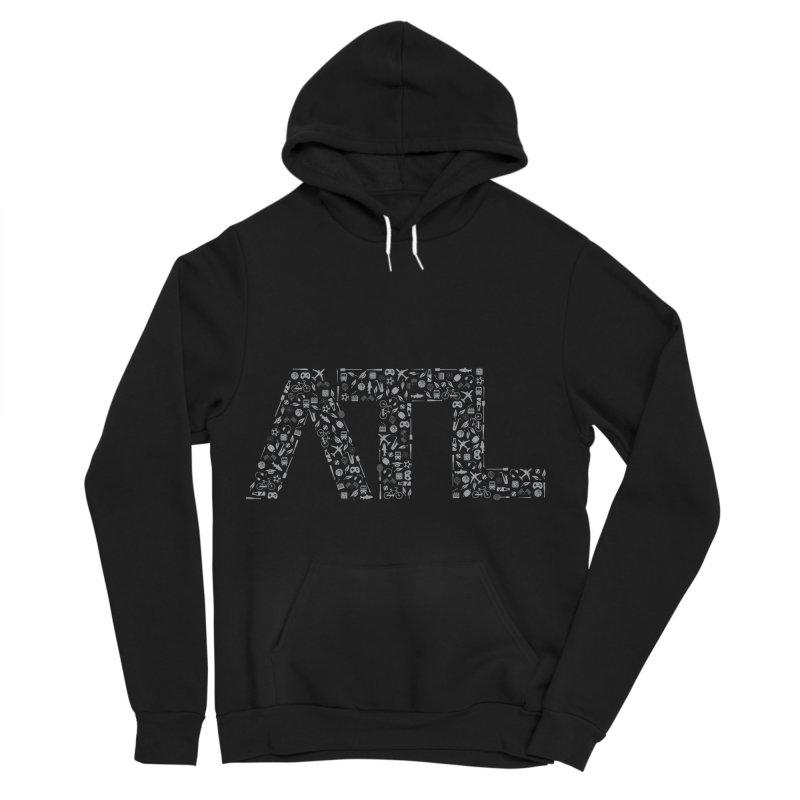 ATL Men's Sponge Fleece Pullover Hoody by ATLBrandBox's Artist Shop