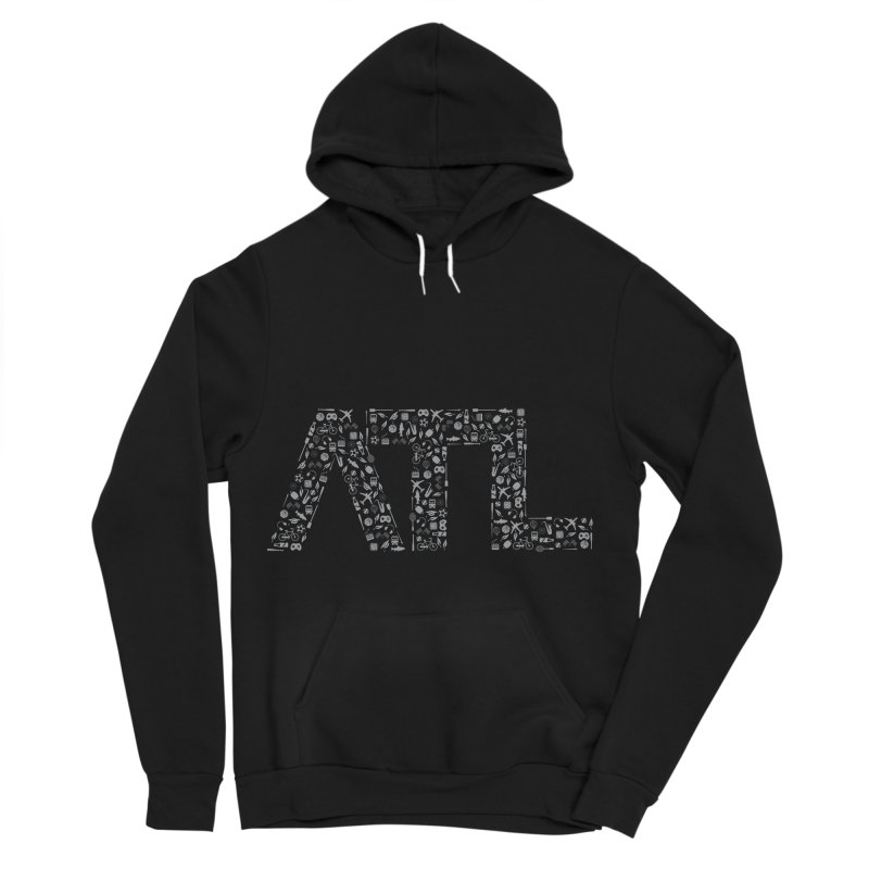 ATL Women's Sponge Fleece Pullover Hoody by ATLBrandBox's Artist Shop