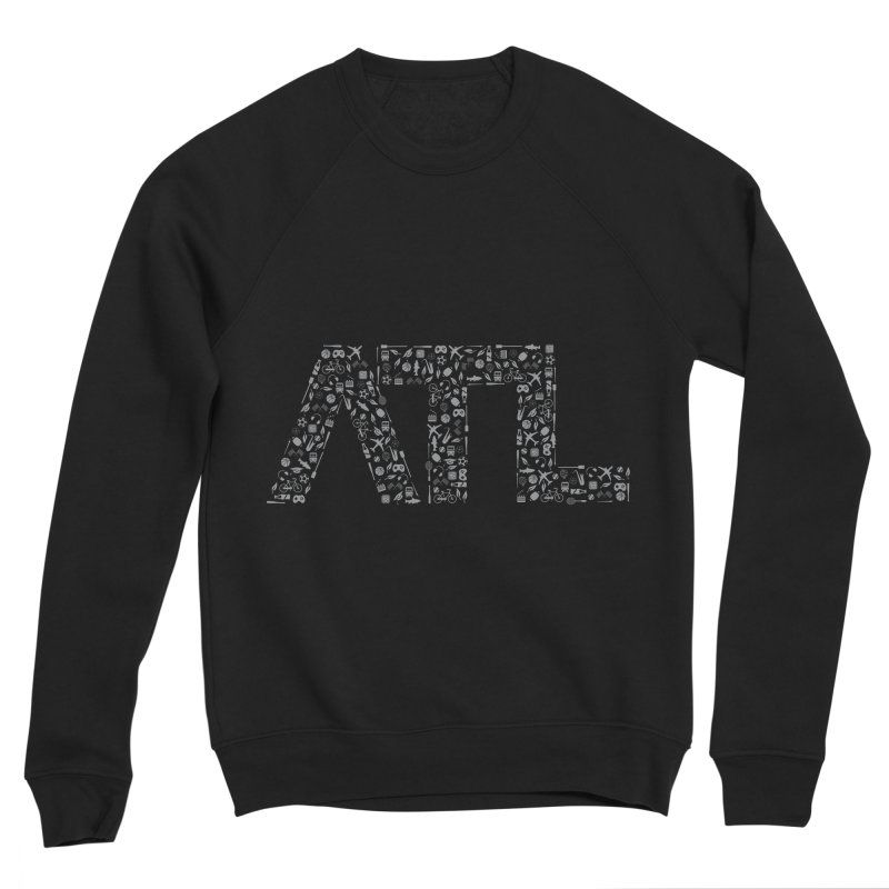 ATL Men's Sponge Fleece Sweatshirt by ATLBrandBox's Artist Shop