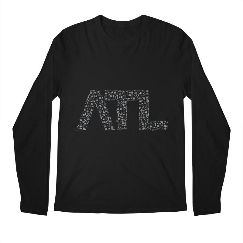 ATL Men's Longsleeve T-Shirt by ATLBrandBox's Artist Shop
