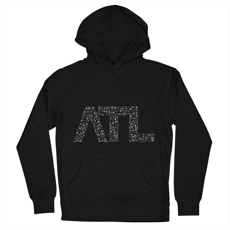 ATL Men's French Terry Pullover Hoody by ATLBrandBox's Artist Shop