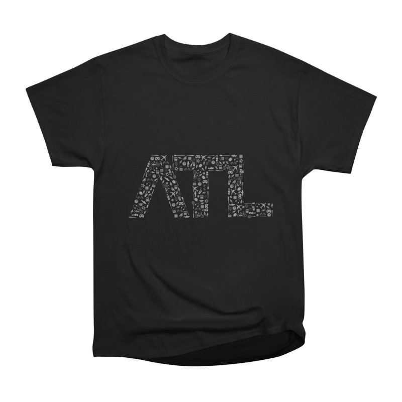 ATL Men's Heavyweight T-Shirt by ATLBrandBox's Artist Shop