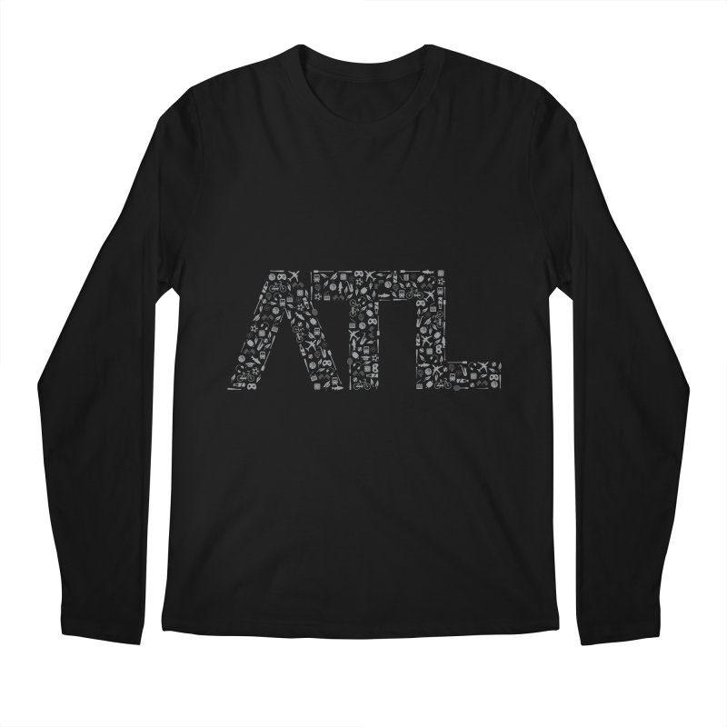 ATL Men's Regular Longsleeve T-Shirt by ATLBrandBox's Artist Shop