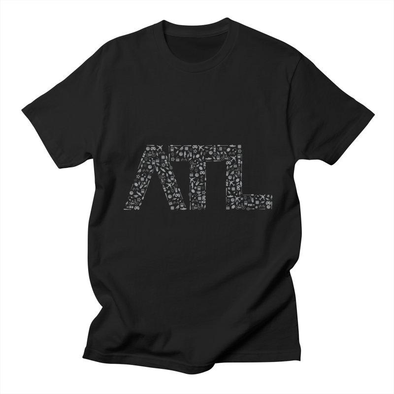 ATL Women's Regular Unisex T-Shirt by ATLBrandBox's Artist Shop