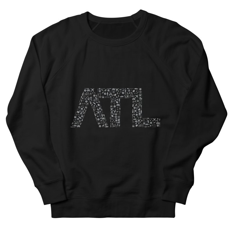 ATL Men's French Terry Sweatshirt by ATLBrandBox's Artist Shop