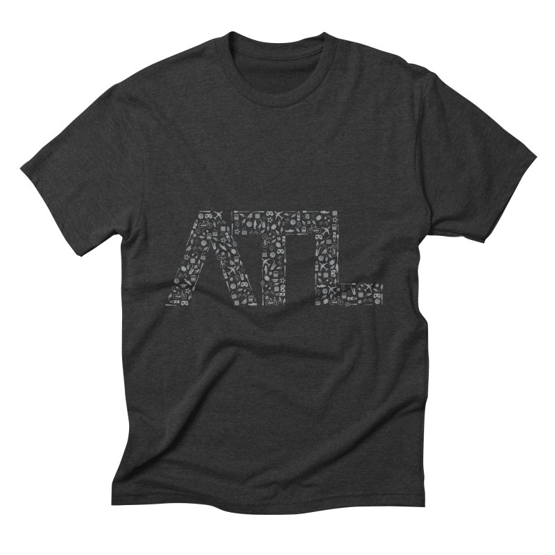 ATL Men's Triblend T-Shirt by ATLBrandBox's Artist Shop