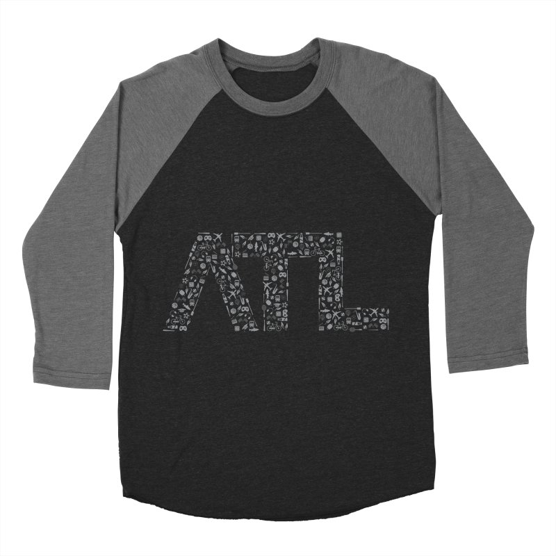 ATL Men's Baseball Triblend Longsleeve T-Shirt by ATLBrandBox's Artist Shop