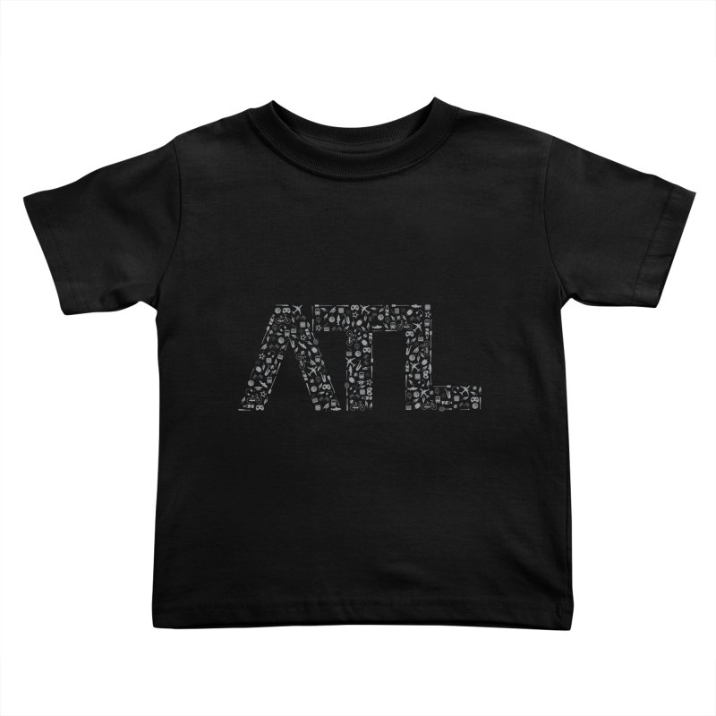 ATL Kids Toddler T-Shirt by ATLBrandBox's Artist Shop