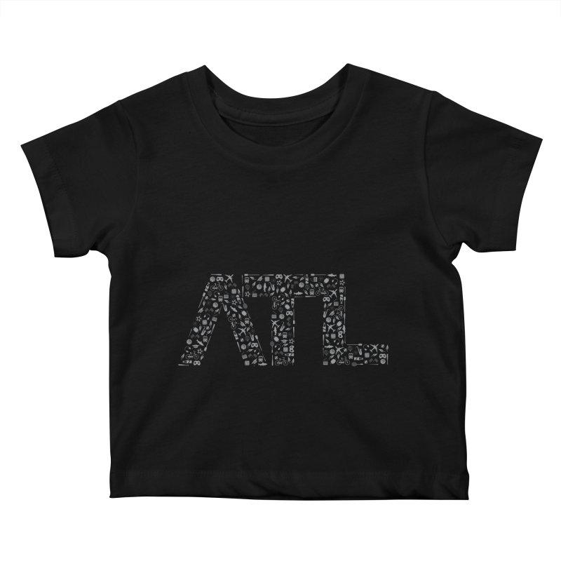 ATL Kids Baby T-Shirt by ATLBrandBox's Artist Shop