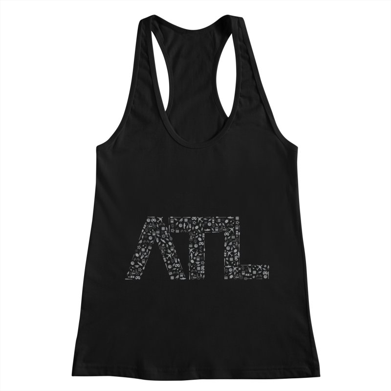 ATL Women's Racerback Tank by ATLBrandBox's Artist Shop